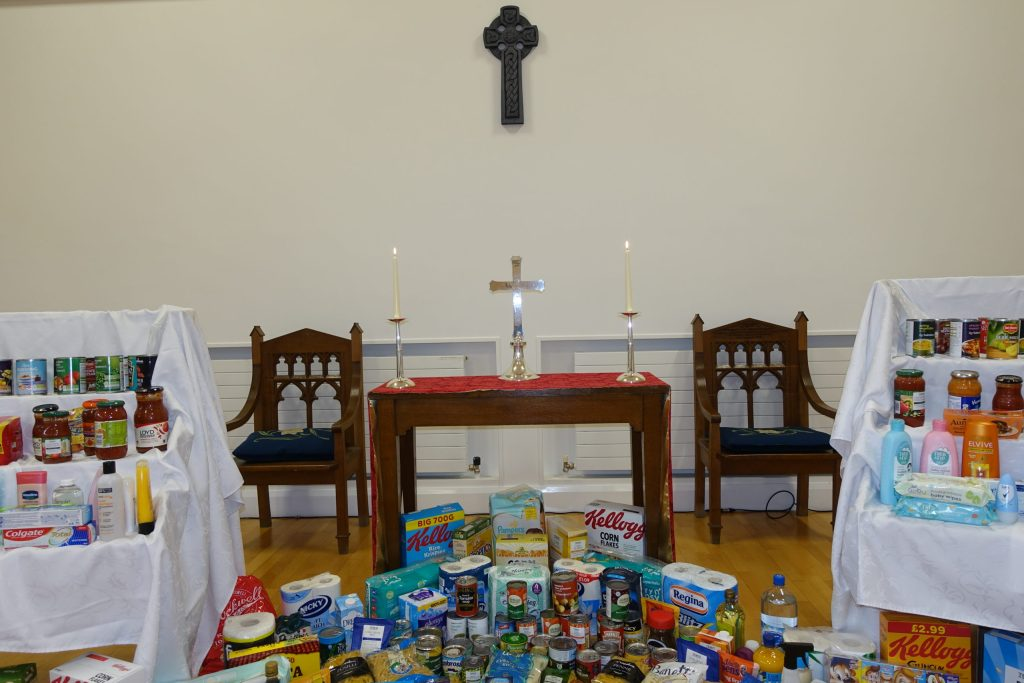 Harvest 2020 - Donations to Storehouse and Women's Aid