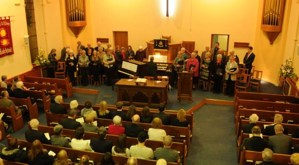 Groomsport Presbyterian Church installation of Rev Paul Dalzell