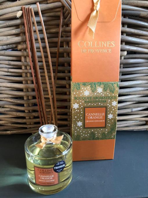 Collines de Provence kerst geurstokjes kaneel-sinaasappel @grootgenot.com