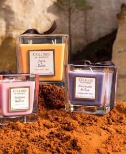 geurkaarsen Collines de Provence bij grootgenot.com