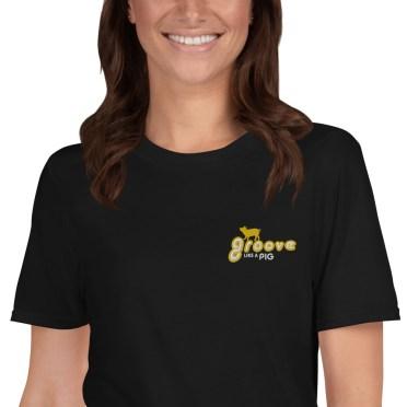 grooveurs créatifs t-shirt-femme-groovelikeapig