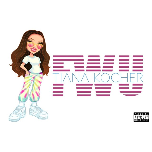 GROOVE MAG BEST NEW RNB POP: Groovy, Edgy and explicit but melodic, sweet and catchy with a modern bouncy sleek pop vibe, 'Tiana Kocher' lets loose her glorious 'FWU'