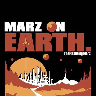 With a spacey modern Hip-Hop groove, 'Marz' drops 'Marz on Earth' into global orbit
