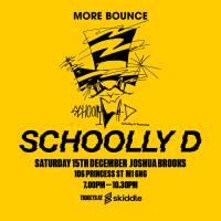 Manchester: Schoolly D and DJ Code Money, 15 December 2018