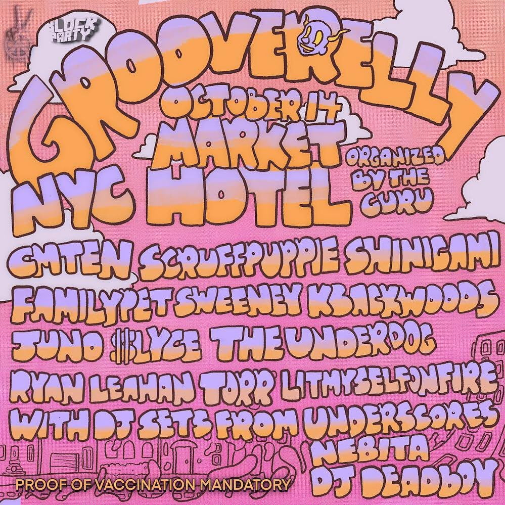 Grooverelly in NYC