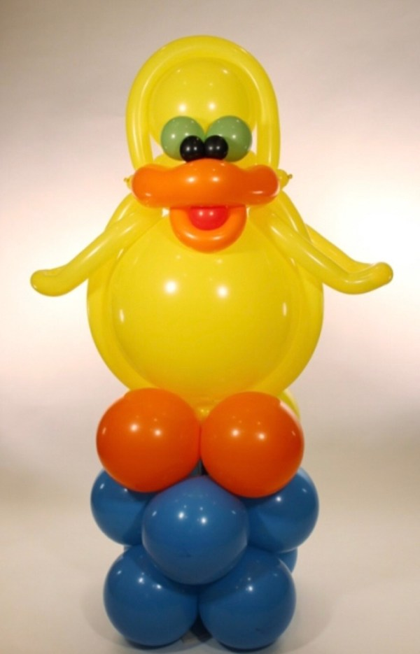 Jumbo Duck Balloon Delivered