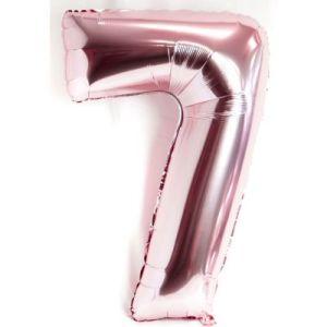 Shiny Pink Megaloon balloon 7