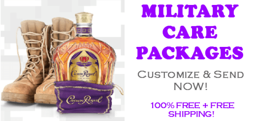 Crown Royal Military Care Packages