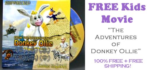 Donkey Ollie Cartoon FREE DVD