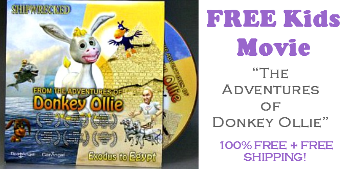 Donkey Ollie Cartoon FREE DVD