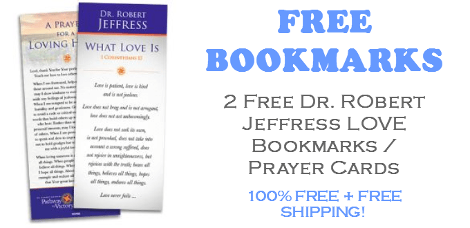 Dr Robert Jeffress FREE Love Bookmarks