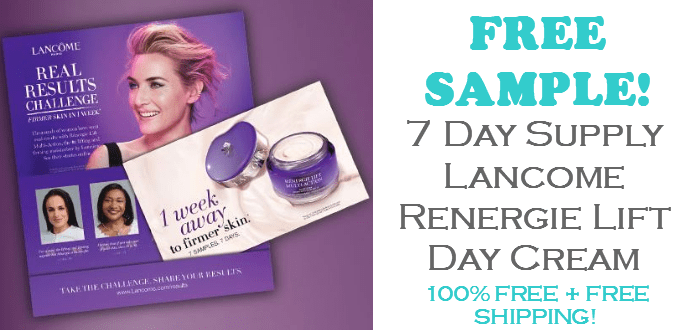 Lancome Renergie Lift Day Cream FREE SAMPLE