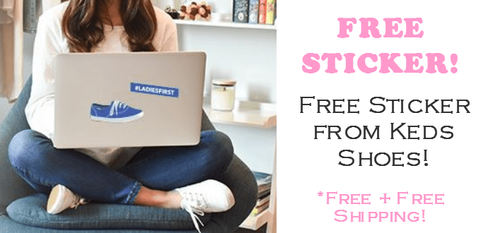keds free stickers free stuff