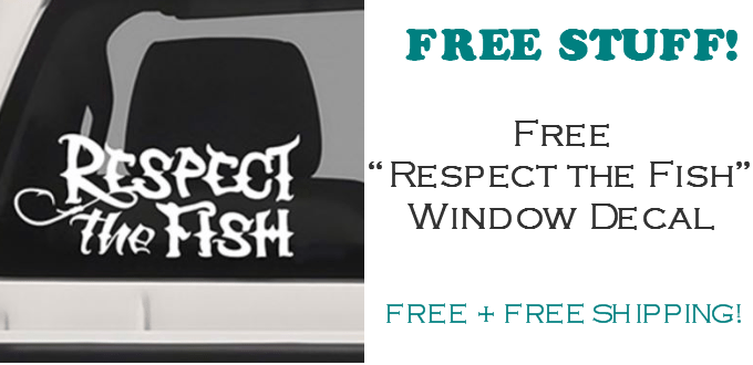 Respect the Fish FREE Window Decal