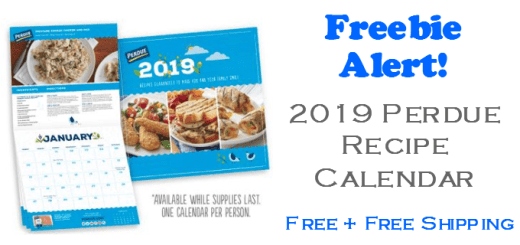 Perdue 2019 Kitchen Recipe Calendar