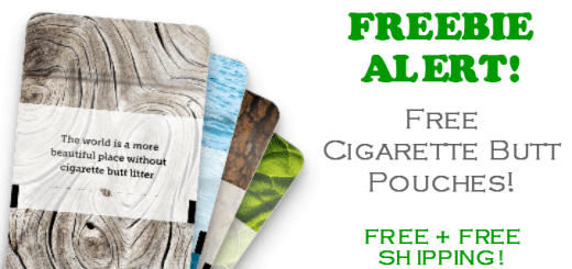 FREE Cigarette Butt Pouches