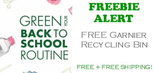 Garnier Recycling Bin