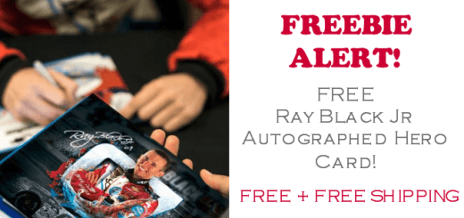 Ray Black Jr Autograph FREE Hero Card