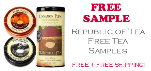 Republic of Tea FREE Sample Tea Bags