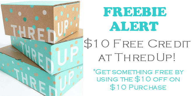 FREE $10 ThredUp Credit