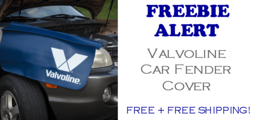 Valvoline Car Fender Cover