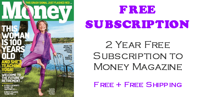 Money Magazine FREE 2 Year Subscription