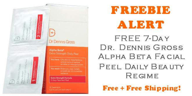 Dr Dennis Gross 7-day Facial Peel FREE SAMPLE