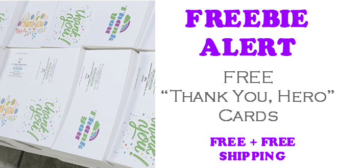 FREE Thank You Hero Cards