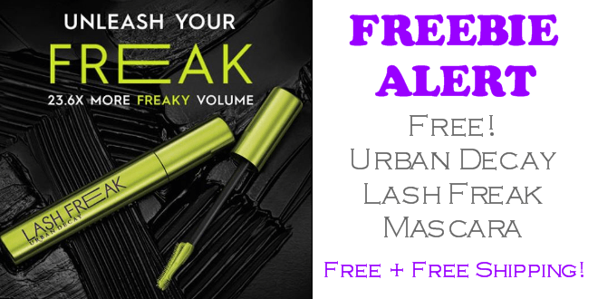FREE Urban Decay Lash Freak Mascara