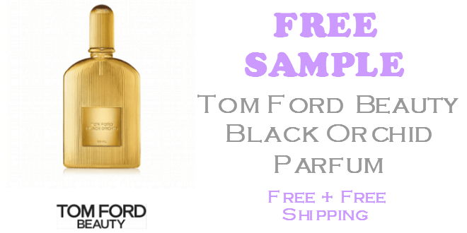 Tom Ford Black Orchid Parfum FREE SAMPLE