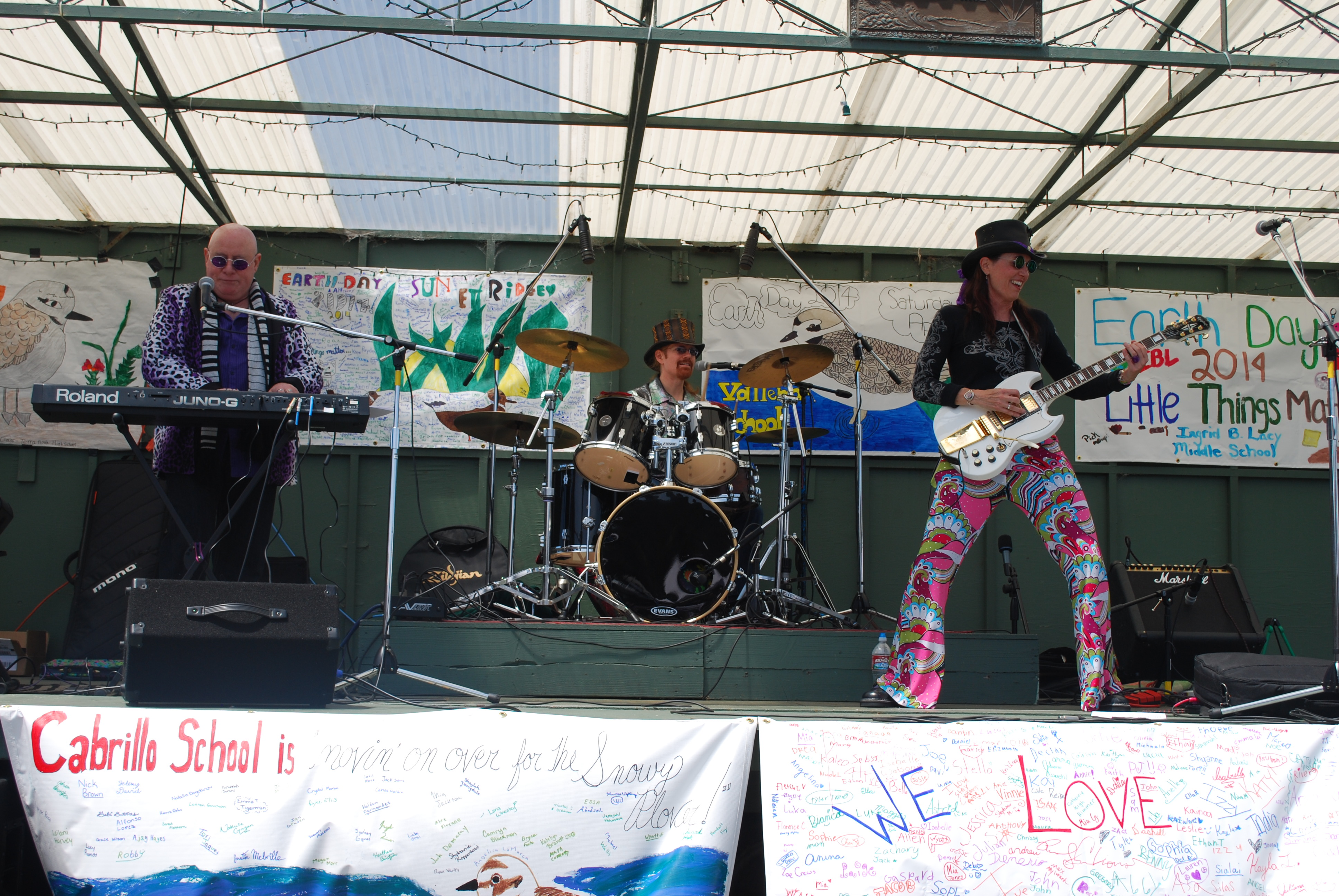 Groovy Judy Band at EcoFest in Pacifica, CA