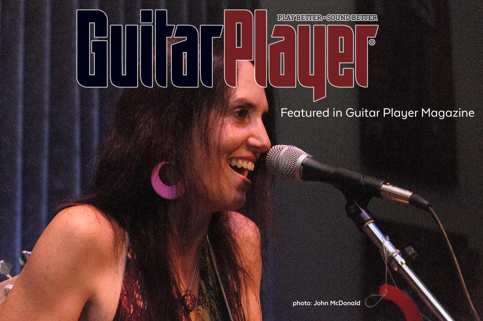 Guitar Player Magazine promo