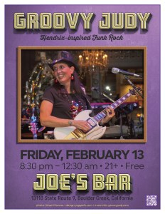 Joe's Bar flyer 02-13-15