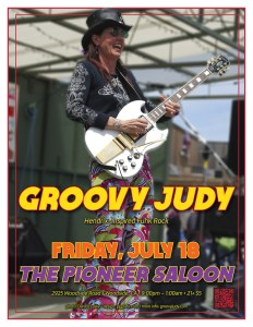 The Pioneer Saloon flyer 07-18-14