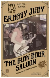 The Iron Door Saloon flyer 05-01-15