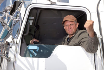 Angry-Truck-Driver