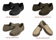 Jual sepatu crocs tinderline canvas 085888666607