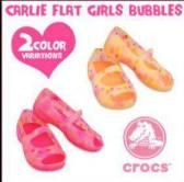 sale crocs carlie flat girls buble 085.888.6666.07