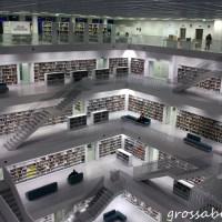 Stuttgarts Stadtbücherei: Innenleben der oberen Stockwerke