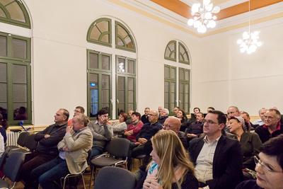 Bürgerversammlung in Großschönau, November 2016