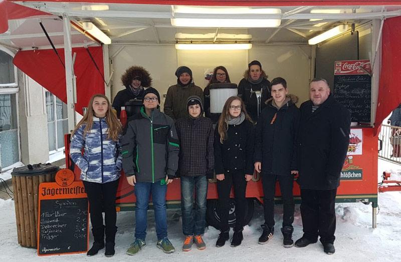 Das Team vom Jugendtreff in Großschönau