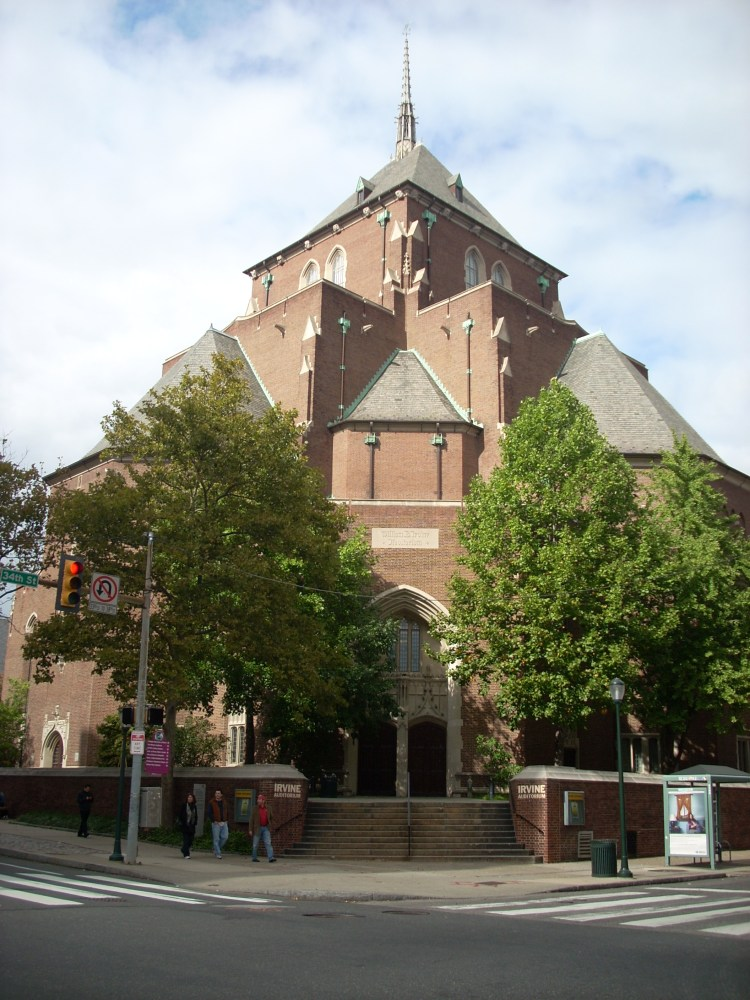 Irvine Auditorium, University of Pennsylvania, Philadelphia, PA (1/2)