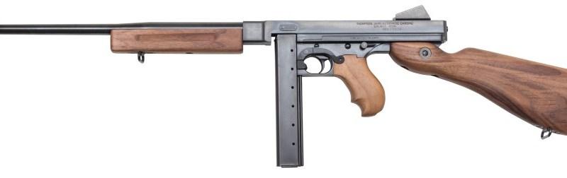 """Pistolet Maszynowy Thompson  """"Thommy Gun"""""""