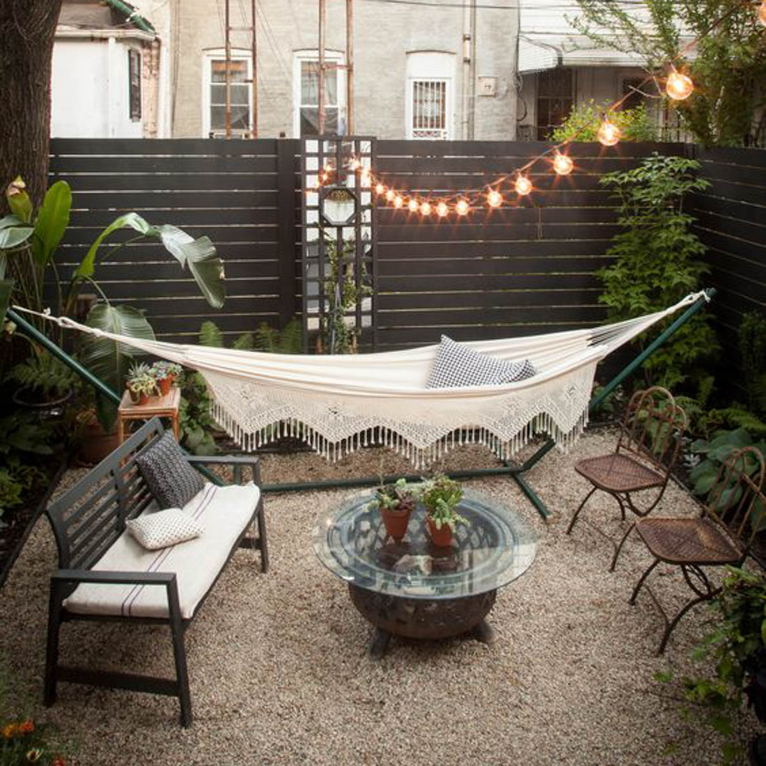Courtyard Garden Inspiration - Grotec Landscape Solutions on Courtyard Patio Ideas id=34019