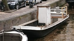 The odd makeshift boat
