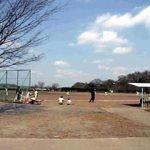 多摩川緑地福生南公園(野球場/テニスコート)