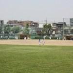 萩中公園野球場