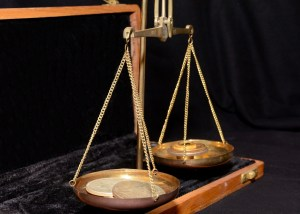 scales, evidence, balance, burden of proof