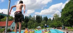 pool jump, confidence, belief