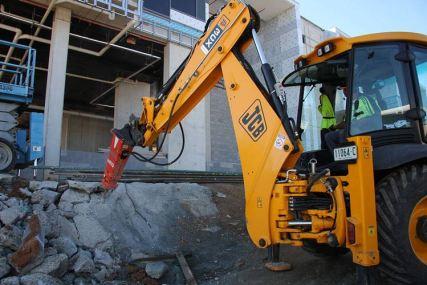 rock hammer Concrete demolition